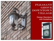 Downtown Design Guidelines - Pleasant Grove City