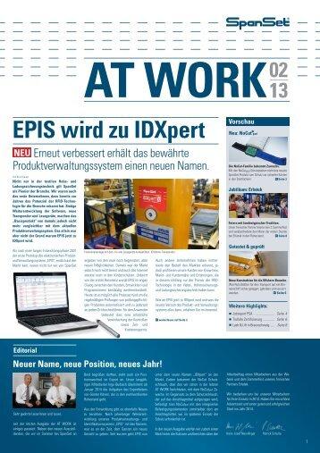 EPIS wird zu IDXpert - SpanSet GmbH & Co. KG