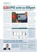 EPIS wird zu IDXpert - SpanSet GmbH & Co. KG - Page 2