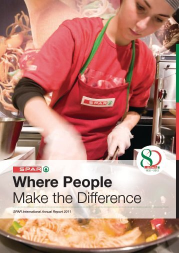 Where People Make the Difference - Spar
