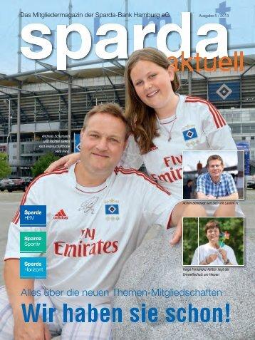 Ausgabe 5 / 2013 - Sparda-Bank Hamburg eG