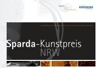 Sparda-Kunstpreis NRW Booklet - Sparda-Bank West eG