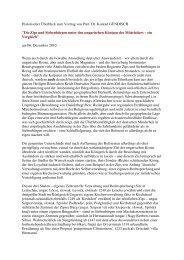 Historischer Überblick zum Vortrag von Prof. Dr ... - Sparkarte Springe