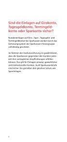 Sicherheit von Geldanlagen - Sparkasse Aachen - Seite 5