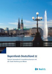 Bayernfonds Deutschland 22