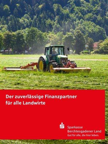 Der zuverlässige Finanzpartner für alle Landwirte - Sparkasse ...