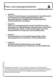 Preis- und Leistungsverzeichnis ab 09.10.2012 - Sparkasse ...