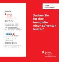 Zum PDF-Flyer mit den Kontaktdaten - Sparkasse Darmstadt