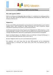 Leitfaden SEPA-Umstellung für SPG-Verein - Sparkasse Darmstadt