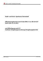 Offenlegungsbericht 2011 - Endfassung - Sparkasse Darmstadt