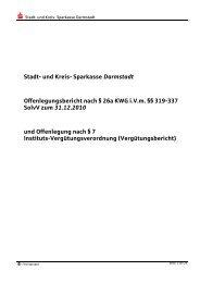 Offenlegungsbericht 2010 - Endversion - Sparkasse Darmstadt