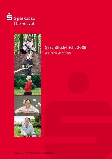 Geschäftsjahr 2008 - Sparkasse Darmstadt