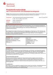 Produktinformationsblatt Vorlage IHS ohne Basisprospekt - ab Serie ...