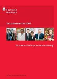 Geschäftsjahr 2005 - Sparkasse Darmstadt