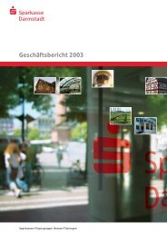 Geschäftsjahr 2003 - Sparkasse Darmstadt
