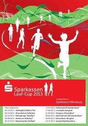 Ausschreibung des Sparkassen-Cup 2013 - Sparkasse Dillenburg