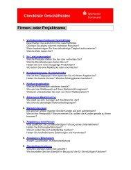 Checkliste Geschäftsidee - Sparkasse Dortmund