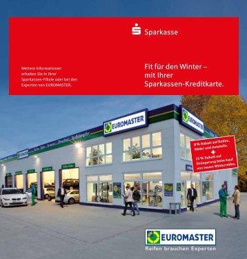 mit Ihrer Sparkassen-Kreditkarte. - Sparkasse Duisburg