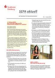 Nr. 3 – Januar 2013 - Sparkasse Duisburg