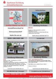 Immobilienzeitung - Sparkasse Duisburg