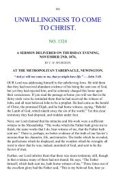 1324-Unwillingness-To-Come-To-Christ