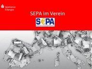 SEPA im Verein - Sparkasse Erlangen