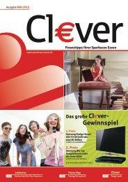 Cl€ver - Ausgabe Mai 2012 - Sparkasse Essen