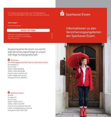 Informationen zu Versicherungsangeboten der ... - Sparkasse Essen