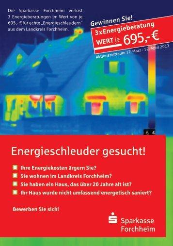 Jetzt informieren - Sparkasse Forchheim