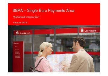 SEPA Präsentation Firmenkunden - Sparkasse Fulda