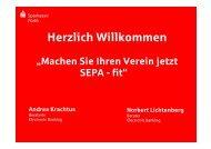 SEPA-Lastschrift - Sparkasse Fürth