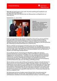 MiR-Stiftung startet gut ins neue Jahr: mit einer Zustiftung der ...