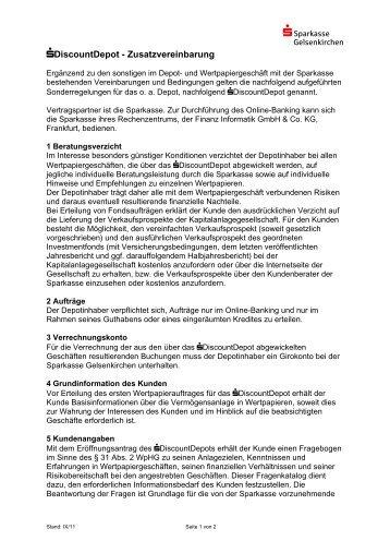 Nderung der zusatzvereinbarung zum betreuungsvertrag Depot radolfzell