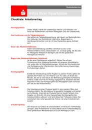 Checkliste: Arbeitsvertrag