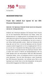 13-05-04_MI_Förderung des DRK Harsewinkel - Sparkasse Gütersloh