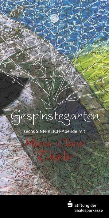Gespinstegarten Thiele - Saalesparkasse