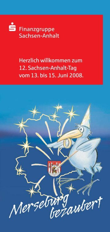 Herzlich willkommen zum 12. Sachsen-Anhalt-Tag vom 13. bis 15 ...