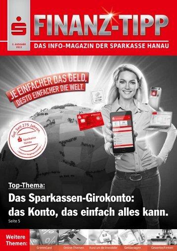 S-Finanz-Tipp Juni 2013 - Sparkasse Hanau