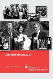 Geschäftsbericht 2012 - Sparkasse Harburg-Buxtehude