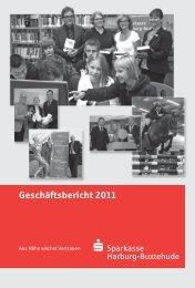 Geschäftsbericht 2011 - Sparkasse Harburg-Buxtehude