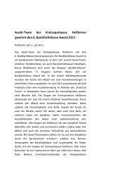 Weitere Informationen - Kreissparkasse Heilbronn