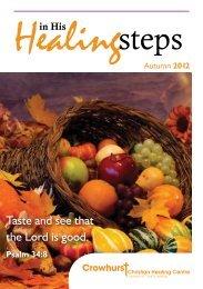 Healing Steps - Autumn 2012