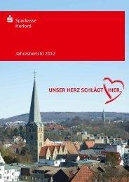 S Sparkasse Herford Jahresbericht 2012