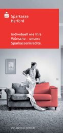 Prospekt zum Thema (PDF) - Sparkasse Herford