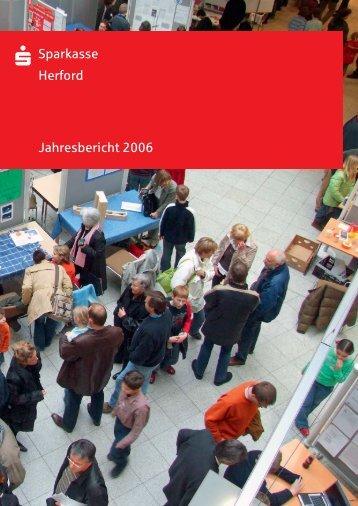 Geschäftsbericht 2006 - Sparkasse Herford