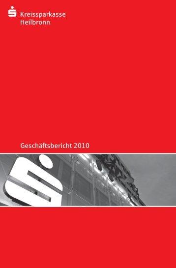 Geschäftsbericht 2010 - Kreissparkasse Heilbronn