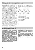 Gebrauchsanweisung Geschirrspüler Pro Comfort 80500 - Seite 6
