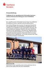 2011-06-29_Feldbetten für Stormini - Sparkasse Holstein
