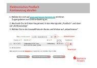 Kontoauszug abrufen - Sparkasse Holstein