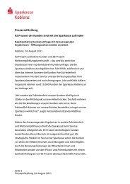 Weitere Ergebnisse - Sparkasse Koblenz